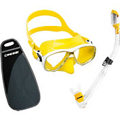 Cressi Marea and Supernova Dry Snorkel Mask Combo