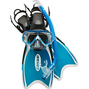 Cressi Mini Palau Snorkel Mask and Fin Combo