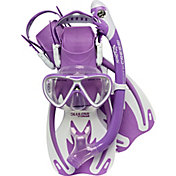 Cressi Youth Rocks Pro Dry Snorkeling Set