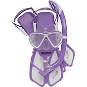 Cressi Youth Mini Bonete Pro Dry Snorkeling Set