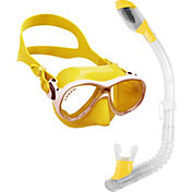 Cressi Marea Jr and Mini Dry Snorkel Mask Combo