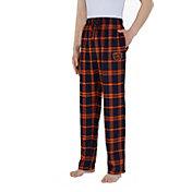 Concepts Sport Men's Chicago Bears Parkway Navy Flannel Pants
