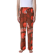 Concepts Sport Men's Cleveland Browns Pinnacle Brown Fleece Pants