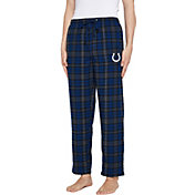 Concepts Sport Men's Indianapolis Colts Parkway Blue Flannel Pants