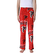 Concepts Sport Men's Atlanta Falcons Pinnacle Red Fleece Pants