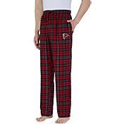 Concepts Sport Men's Atlanta Falcons Parkway Red Flannel Pants