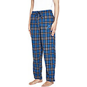 Concepts Sport Men's Detroit Lions Parkway Blue Flannel Pants