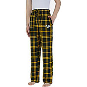 Concepts Sport Men's Green Bay Packers Parkway Green Flannel Pants