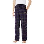 Concepts Sport Men's Baltimore Ravens Parkway Purple Flannel Pants