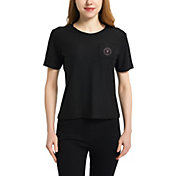 Concepts Sport Women's Inter Miami CF Zest Black Short Sleeve Top