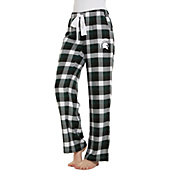 Concepts Sport Women's Michigan State Spartans Flannel Pajama Pants