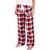 Concepts Sport Women's Kansas City Chiefs Breakout Red Flannel Pants