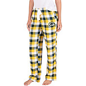 Concepts Sport Women's Green Bay Packers Breakout Green Flannel Pants