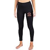 Concepts Sport Women's Green Bay Packers Black Frontline Leggings