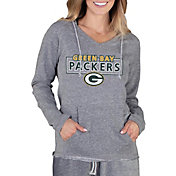 Concepts Sport Women's Green Bay Packers Mainstream Grey Hoodie