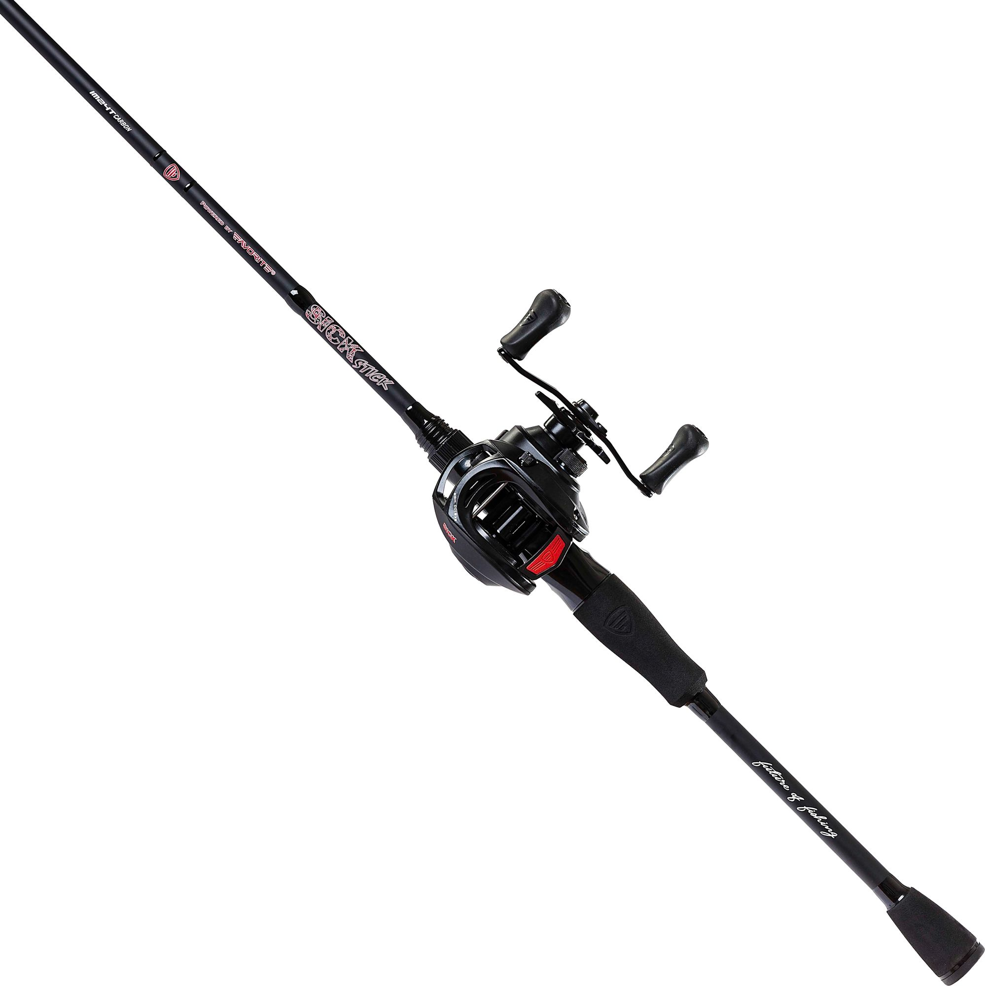 Favorite Fishing USA Sick Stick Casting Combo, Aluminum