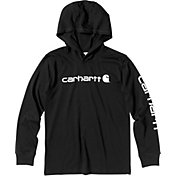 Carhartt Boys' Long Sleeve Hooded T-Shirt