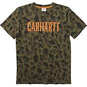 Carhartt Boys' Camo Short Sleeve T-Shirt