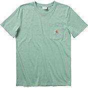 Carhartt Boys' Dog Pocket Short Sleeve T-Shirt