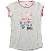 Carhartt Girls' Love C Ringer Short Sleeve T-Shirt