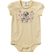 Carhartt Infant Girls' Puppy Love Short Sleeve Onesie