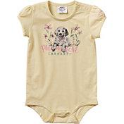 Carhartt Infant Girls' Puppy Love Short Sleeve Onesie