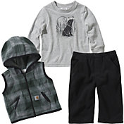 Carhartt Infant Boys' T-Shirt Pants and Vest Set