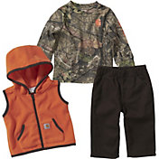 Carhartt Infant Boys' Camo T-Shirt Pant and Vest Gift Set