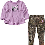 Carhartt Infant Girls' Tunic and Printed Leggings Set