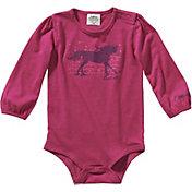 Carhartt Infant Girls' Heather Long Sleeve Body Shirt
