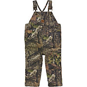 Carhartt Infant Camo Canvas Bib Mossy Oak Overalls