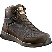 "Carhartt Men's Force 6"" Black Work Boot Waterproof Nano Composite Toe"