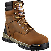 "Carhartt Men's Ground Force 8"" Brown Waterproof Soft Toe"