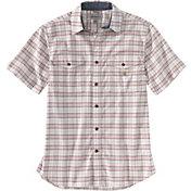Carhartt Men's Short Sleeve Plaid Button Down Shirt