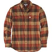 Carhartt Men's Rugged Flex Relaxed Fit Flannel Long Sleeve Plaid Shirt