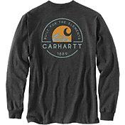 Carhartt Men's Built For The Elements Graphic Long Sleeve Pocket T-Shirt