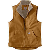 Carhartt Men's Sherpa-Lined Mock Neck Vest