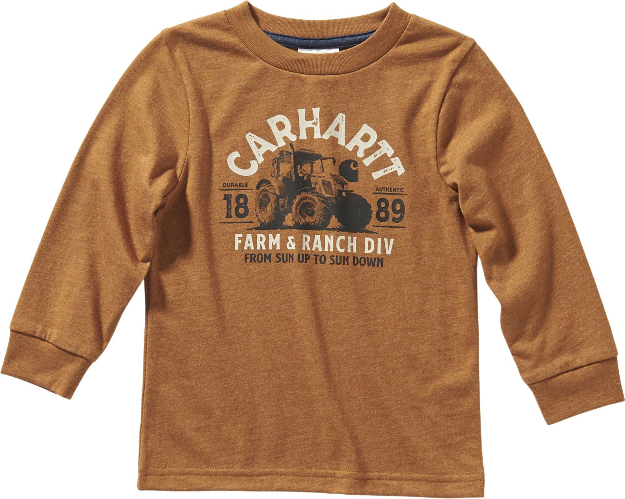 Carhartt boysLong Sleeve Tee Shirt Long Sleeves T-Shirt