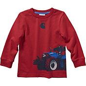 Carhartt Boys' Tractor Wrap Long Sleeve T-Shirt
