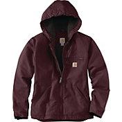 Carhartt Women's Washed Duck Sherpa Lined Jacket