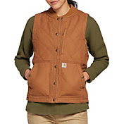 Carhartt Women's Quilted Canvas Vest