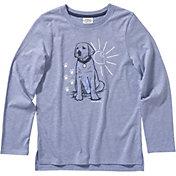 Carhartt Girls' Heather Graphic Long Sleeve T-Shirt