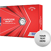 Callaway 2020 Chrome Soft Triple Track Personalized Golf Balls