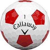 Callaway 2020 Chrome Soft Truvis Red Golf Balls