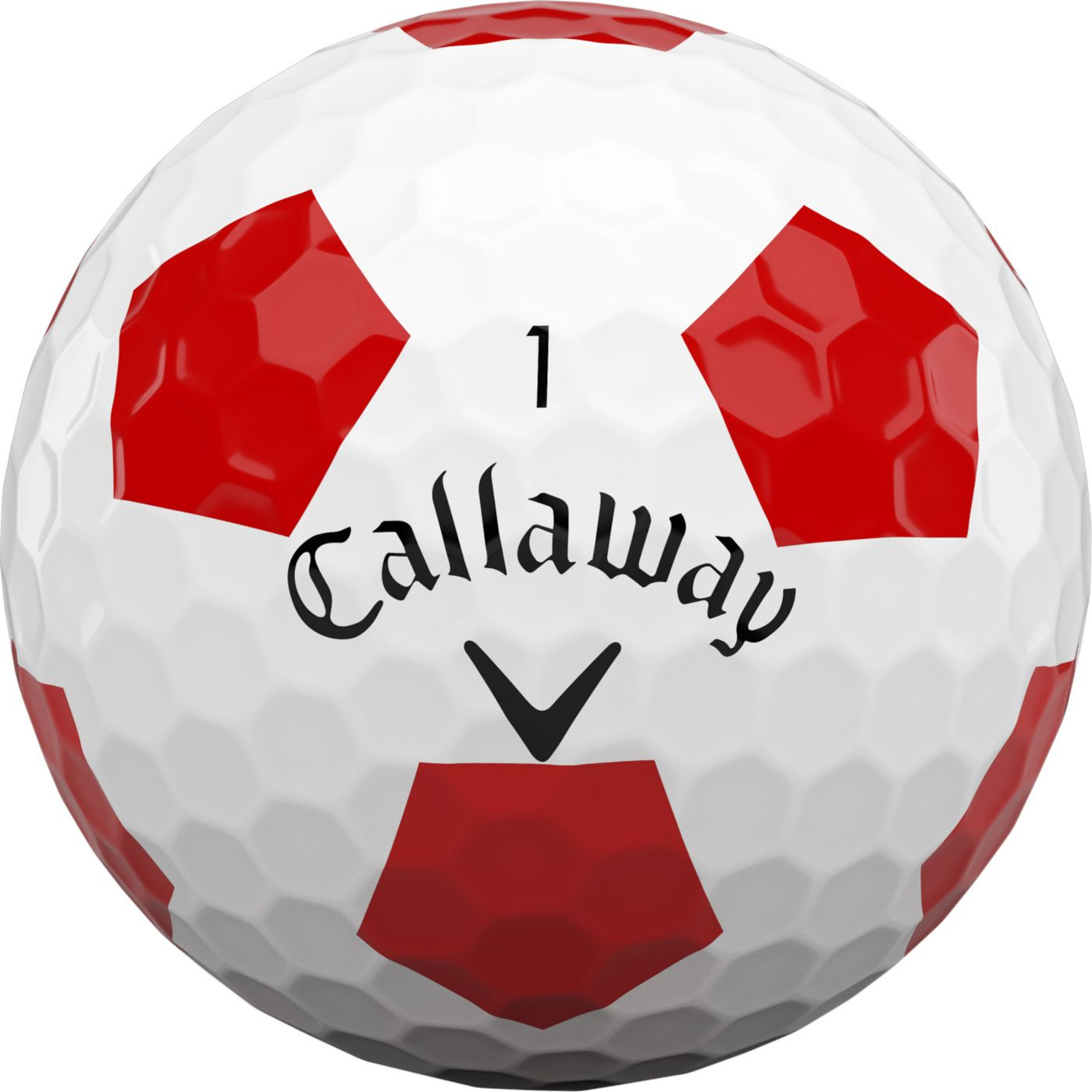 Callaway 2020 Chrome Soft Truvis Red Golf Balls