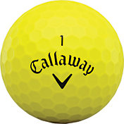 Callaway 2020 Superhot BOLD Yellow Personalized Golf Balls – 15 Pack