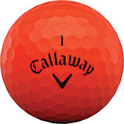 Callaway 2020 Superhot BOLD Red Personalized Golf Balls – 15 Pack