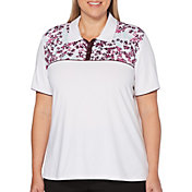 Callaway Women's Swing Tech Short Sleeve Golf Polo - Extended Sizes