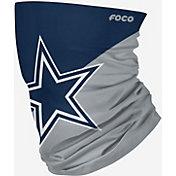 FOCO Cowboys Merchandising Dallas Cowboys Logo Neck Gaiter