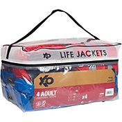 DBX Adult 4-Pack Universal Life Vests